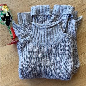 Express Sweater, Light Brown, Size M